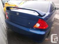 Make Honda Model Civic Si Year 2005 Colour blue kms