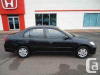 Make Honda Model Civic Year 2005 Colour Black kms