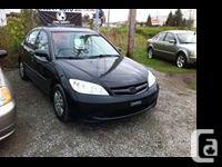 Make Honda Year 2005 Colour black kms 184 ***** SELECT