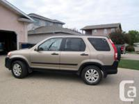 Make Honda Model CR-V Year 2005 Colour Beige kms
