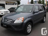 2005 HONDA CR-V EX AUTO TRANSMISSION ALL WHEEL DRIVE NO
