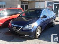 2005 HONDA ODYSSEY EXL 8 PASS CERT AND ETESTED  BLUE,