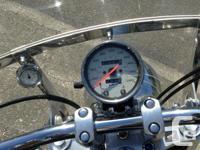 2005 Honda Shadow Sabre in very good condition. 1100cc.