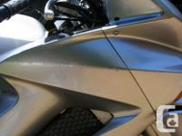 Silver VFR800 with ABS, low mileage - 25,700 kms. VTEC