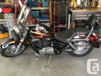 Make Honda Model Shadow Year 2005 kms 17900 As new /