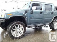 2005 HUMMER H2 SUT  * FULLY LOADED .. SUNROOF, LEATHER,