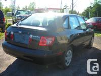 Make Hyundai Model Elantra Year 2005 Colour BLACK kms