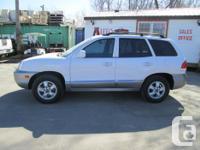 Make Hyundai Model Santa Fe Year 2005 Colour White kms