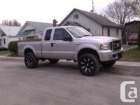 One sick 5.4 L F250. Numerous upgrades and brand-new