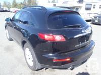 Make Infiniti Model FX35 Year 2005 Colour Black kms