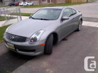 London, ON 2005 Infiniti G35 Coupe This reliable and