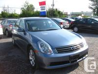 Make Infiniti Model G35X Year 2005 Colour BLUE kms