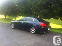 Make Infiniti Model G35 Year 2005 Colour Dark Blue kms