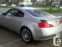 Make Infiniti Model G35 Coupe Year 2005 Colour grey