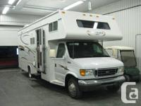 2005 Jayco Grey Hawk Class C Motorhome 26ft with Super