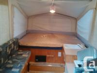 Large family size Jayco 1206 tent trailer with an