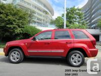 Make Jeep Model Grand Cherokee Year 2005 Colour Red
