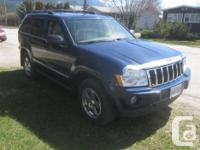 Make Jeep Model Grand Cherokee Year 2005 Colour blue