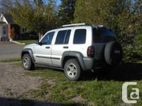 Make Jeep Model Liberty Colour Silver Trans Automatic