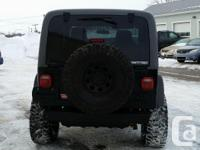 Make Jeep Model TJ Year 2005 Colour black kms 118000
