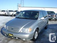 Make Kia Model Sedona Year 2005 Colour Silver kms