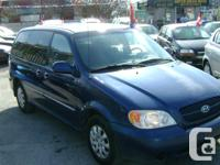 Make Kia Model Sedona Year 2005 Colour Blue kms 188000