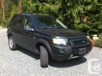 Make Land Rover Model Freelander SE Year 2005 Colour