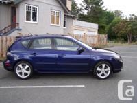 Make Mazda Model 3 Year 2005 Colour Blue kms 170000