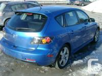 Make Mazda Model 3 Year 2005 Colour Blue kms 183000