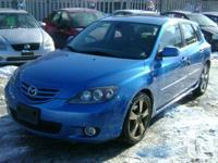 Make Mazda Model 3 Year 2005 Colour Blue kms 183000
