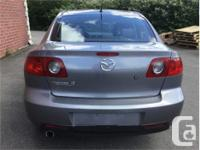 Make Mazda Model 3 Year 2005 Colour Silver kms 259217