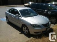 Make. Mazda. Model. 3. Year. 2005. Colour. silver.