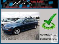 This 2005 Mazda 6 has smooth power train for any kind