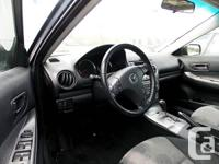 Trans Automatic This 2005 Mazda 6 has smooth power