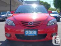 Make Mazda Model Mazda3 Sport Year 2005 Colour Red kms