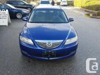 Make Mazda Model MAZDA6 Year 2005 Colour Dark Blue kms