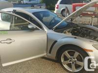 Make Mazda Model RX-8 Year 2005 Colour silver kms