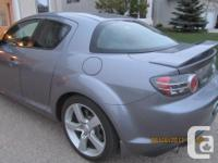 Make Mazda Model RX-8 Year 2005 Colour grey kms 36600