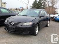 Make. Mazda. Design. 3. Year. 2005. Colour. BLACK.