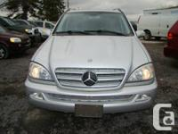 We are seling,2005 MERCEDES BENZ ML350,7 traveler