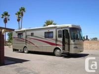 34 foot Coach with 25500 miles!!! Lots of features: