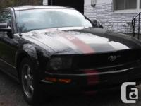 Make Ford Model Mustang Year 2005 Colour Black kms