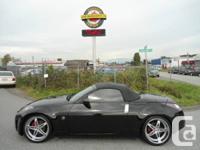 2005 Nissan 350z w/Black Top Convertible, 104,098km
