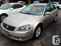 2005 Nissan Altima 2.5.      Version: NissanMake: