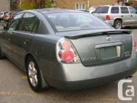 NISSAN ALTIMA 2005 EXTRA MODEL, AUTOMATIC WITH