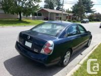 Make Nissan Model Altima Year 2005 Colour Navy Blue