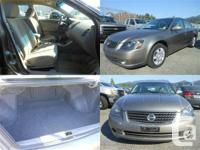 Click to view the details: 2005 Nissan Altima  - Call