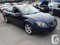 Make Nissan Model Altima Year 2005 Colour Blue kms