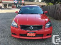 Make Nissan Model Altima Year 2005 Colour Red kms 6900