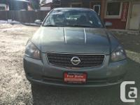 Make Nissan Model Altima Year 2005 Colour Green kms